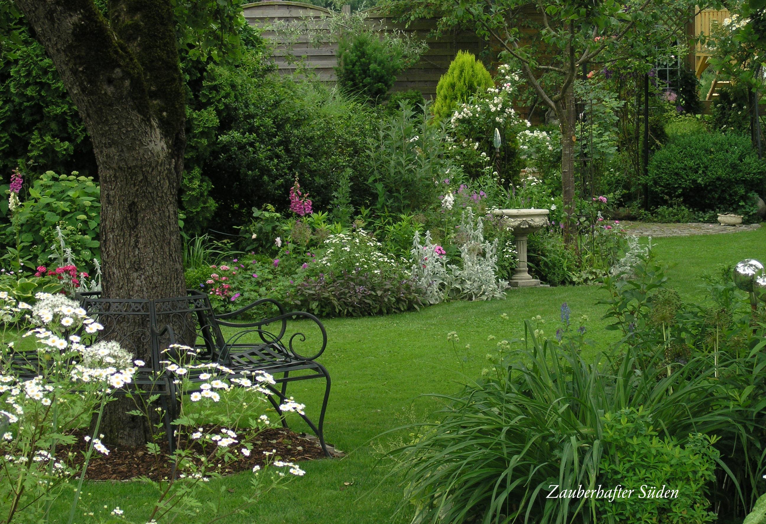 Immer Blühender Garten das süße laissez faire des sommers zauberhafter süden