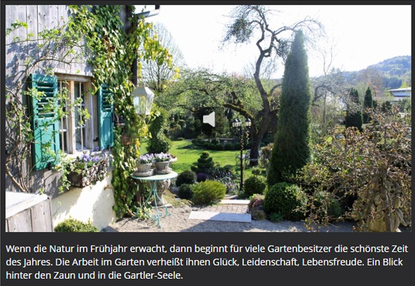 Gartenmotiv Zauberhafter Süden, Foto: BR Susanne Oberloher
