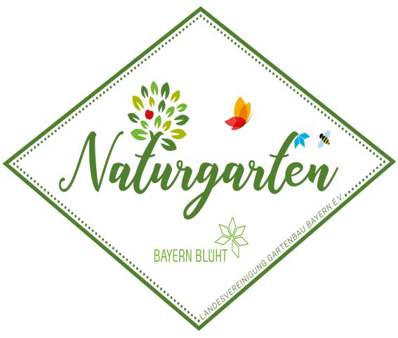 fittosize naturgarten-plakette für den Garten Zauberhafter Sueden in Feldkirchen-Westerham